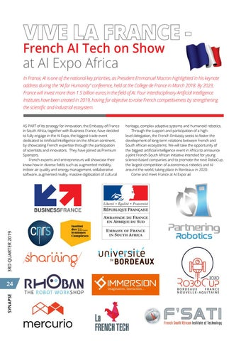 Page 28 of Vive la France - French AI Tech on show at AI Expo Africa 2019
