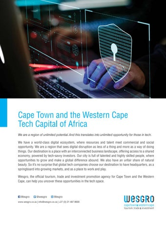 Page 3 of City of Cape Town, Invest Cape Town & Wesgro Welcome African AI Community to Cape Town