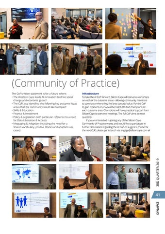 Page 45 of Silicon Cape hosts AI CoP (Community of Practice)