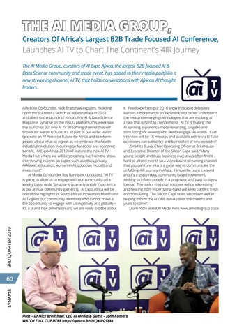 Page 64 of AI Media Group launches AI TV to Chart Africa's AI Journey