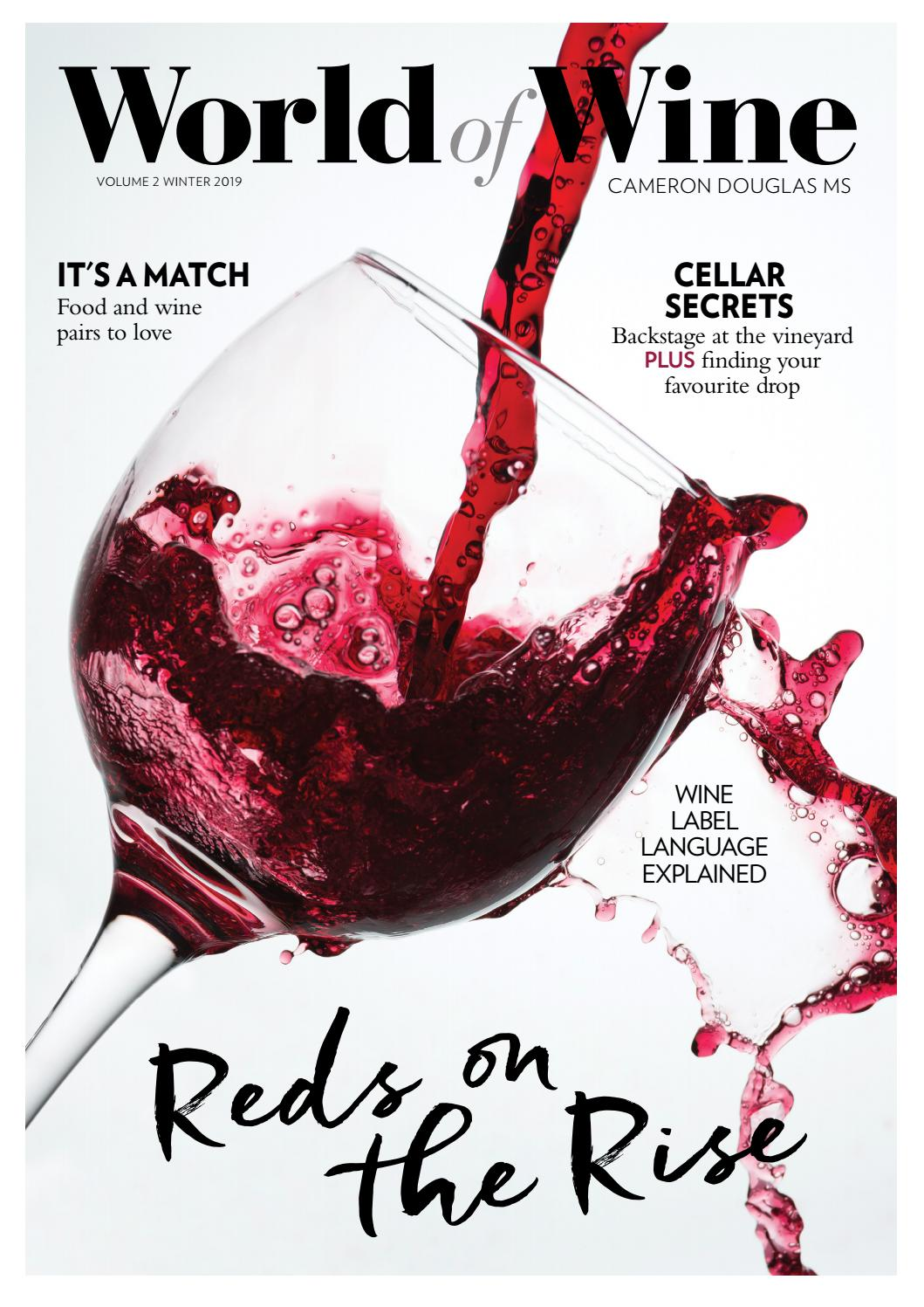 World Of Wine Winter 2019 By The Intermedia Group Issuu