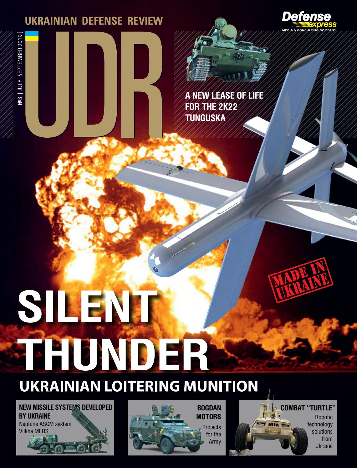 Ukrainian Defense Review 3 July September 2019 By Defense Express Issuu