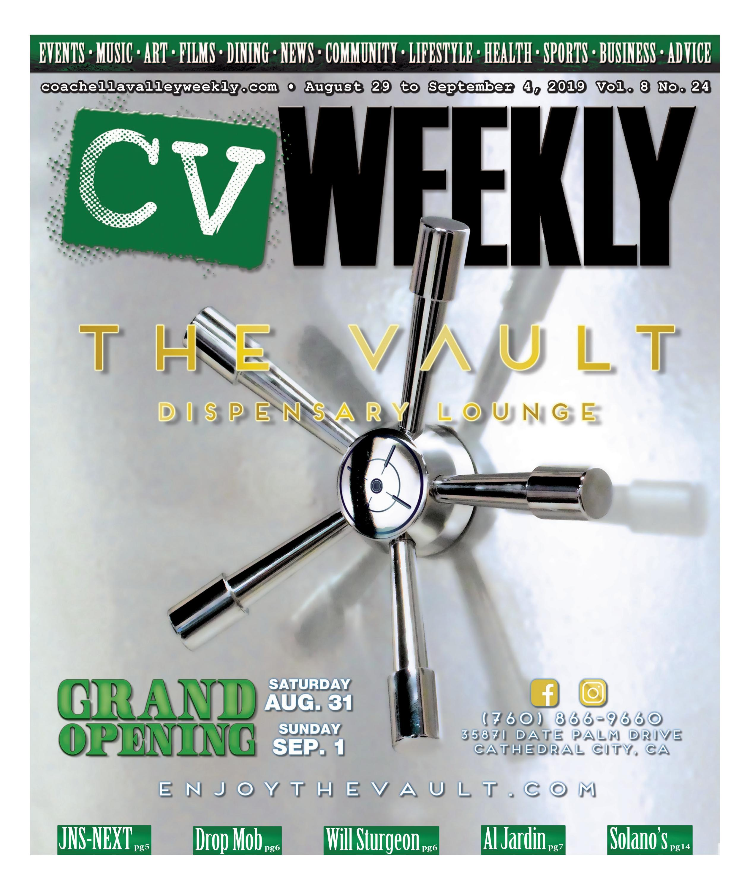 Coachella Valley Weekly - August 29 to September 4, 2019 Vol