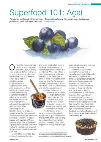 Page 65 of Superfood 101: Açaí