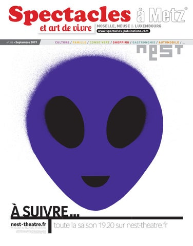 n°313 Publications by Spectacles Metz 2019 Septembre tQdshr
