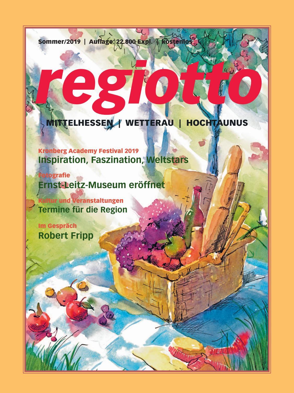 Magazin Regiotto Mittelhessen Wetterau Hochtaunus Sommer