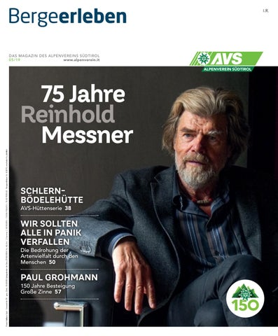 Bergeerleben AVS Magazin September 2019 by Alpenverein