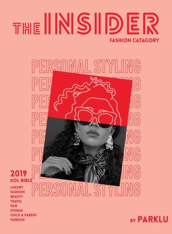 theINSIDER 2019: Free Fashion Catalog by PARKLU - issuu