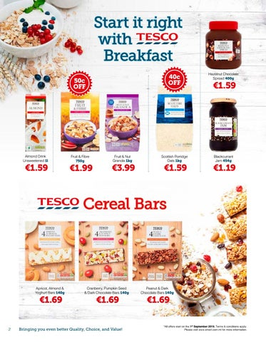 Page 2 of Breakfast delights with Tesco Products - Smart Supermarket