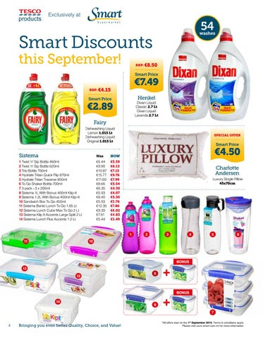 Page 4 of Smart Supermarket Discounts this September!!