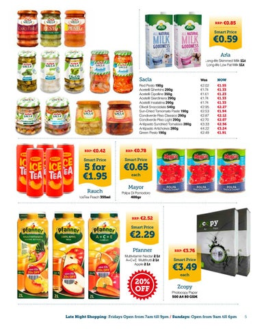 Page 5 of Smart Supermarket Discounts this September!!