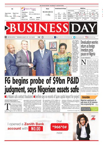 BusinessDay 28 Aug 2019 by BusinessDay - issuu