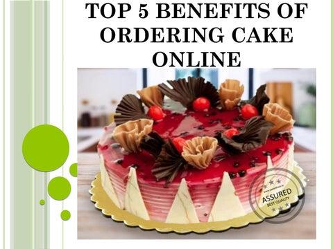 Sensational 5 Benefits Of Ordering Cake Online By Sweet Frost Issuu Funny Birthday Cards Online Amentibdeldamsfinfo