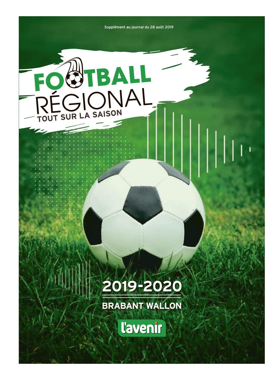 Anais Fabre Nue football régional - tout sur la saison 2019-2020 (brabant