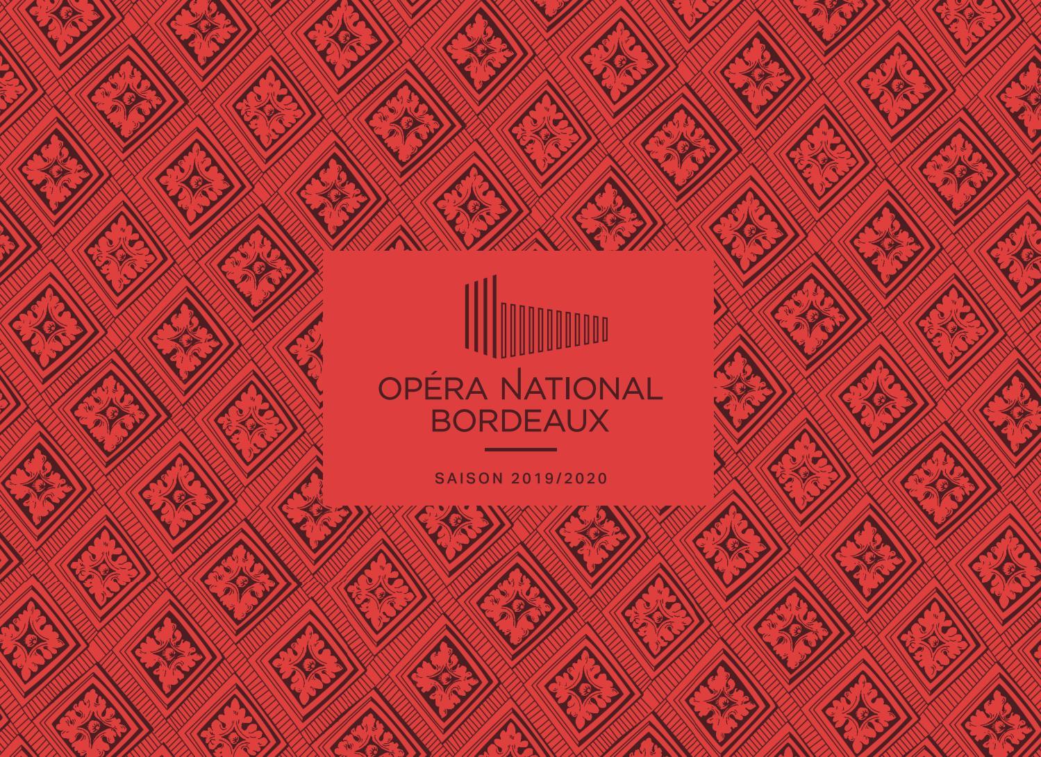 Brochure 19 20 Orchestre National Bordeaux Aquitaine By