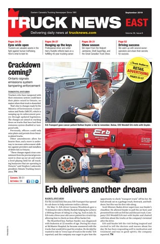 Truck News - East September 2019 by Annex Business Media - issuu on