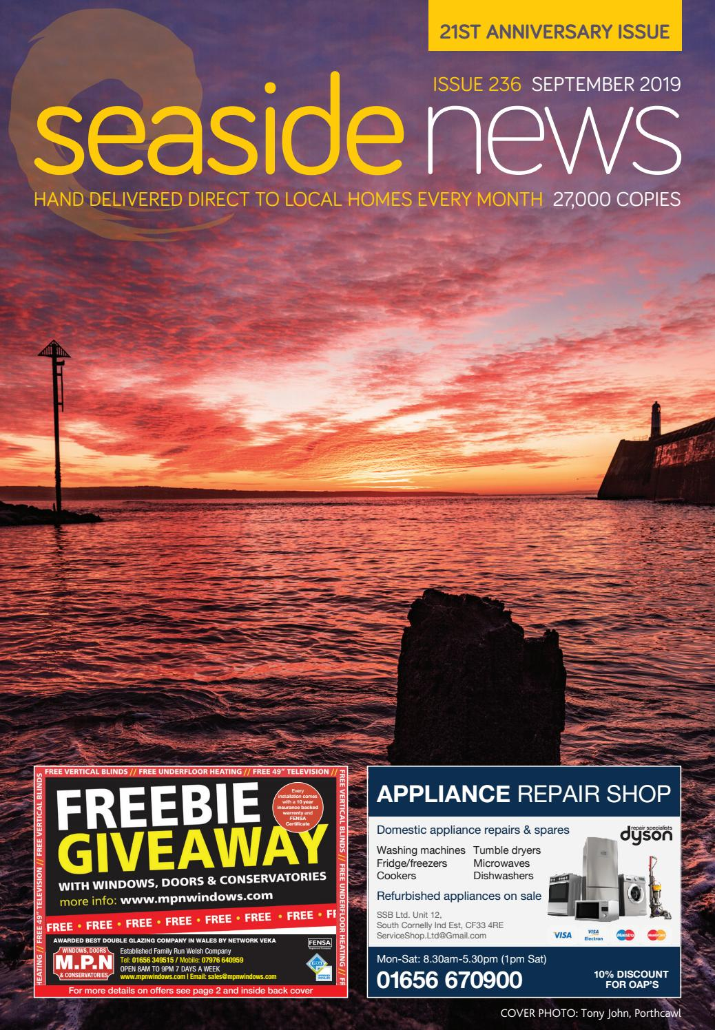 Seaside News 21st Anniversary Issue September 2019 By