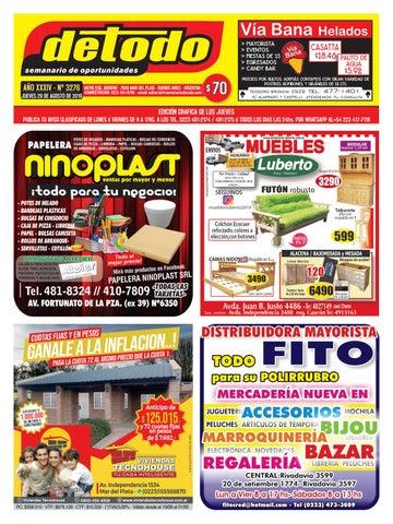 Semanario Detodo Edición N° 3276 29082019 by Semanario