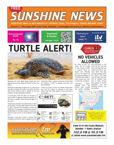 Sunshine News Issue11 16th August 2019 By Sunshine News Cb Issuu