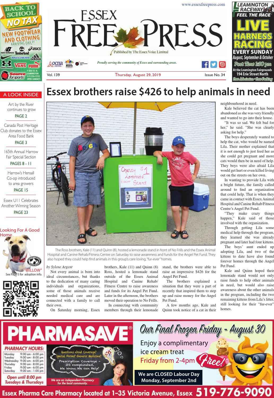 Essex Free Press August 29 2019 By Essex Free Press Issuu