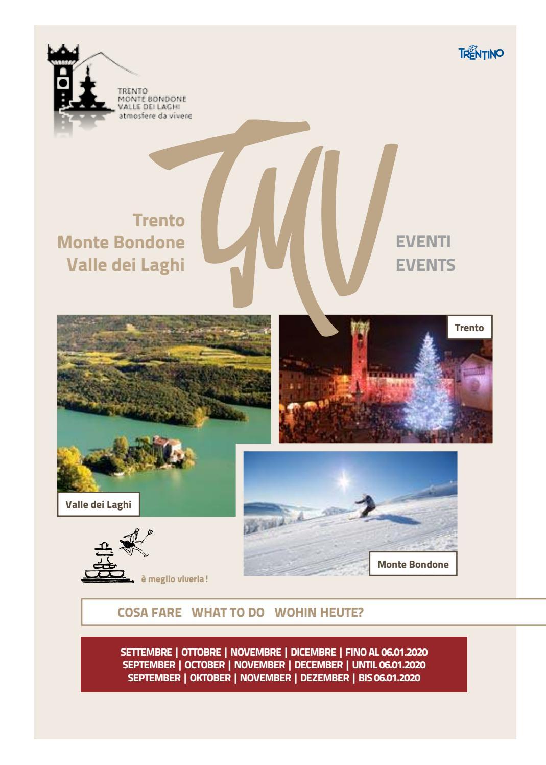Calendario Taglio Legna 2020.Eventi Set 2019 Gen 2020 Events Sep 2019 Jan 2020 By