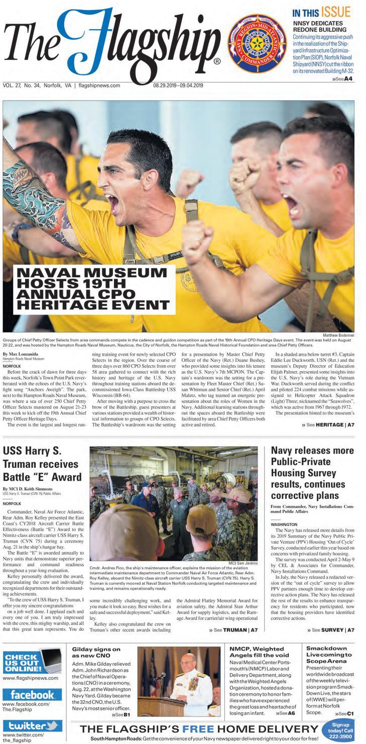 Flagship 08 29 19 by Military News - issuu
