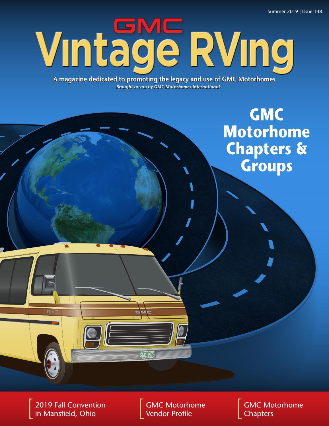 Gmc Vintage Rving Magazine Summer 2019 By Ceva Design Issuu