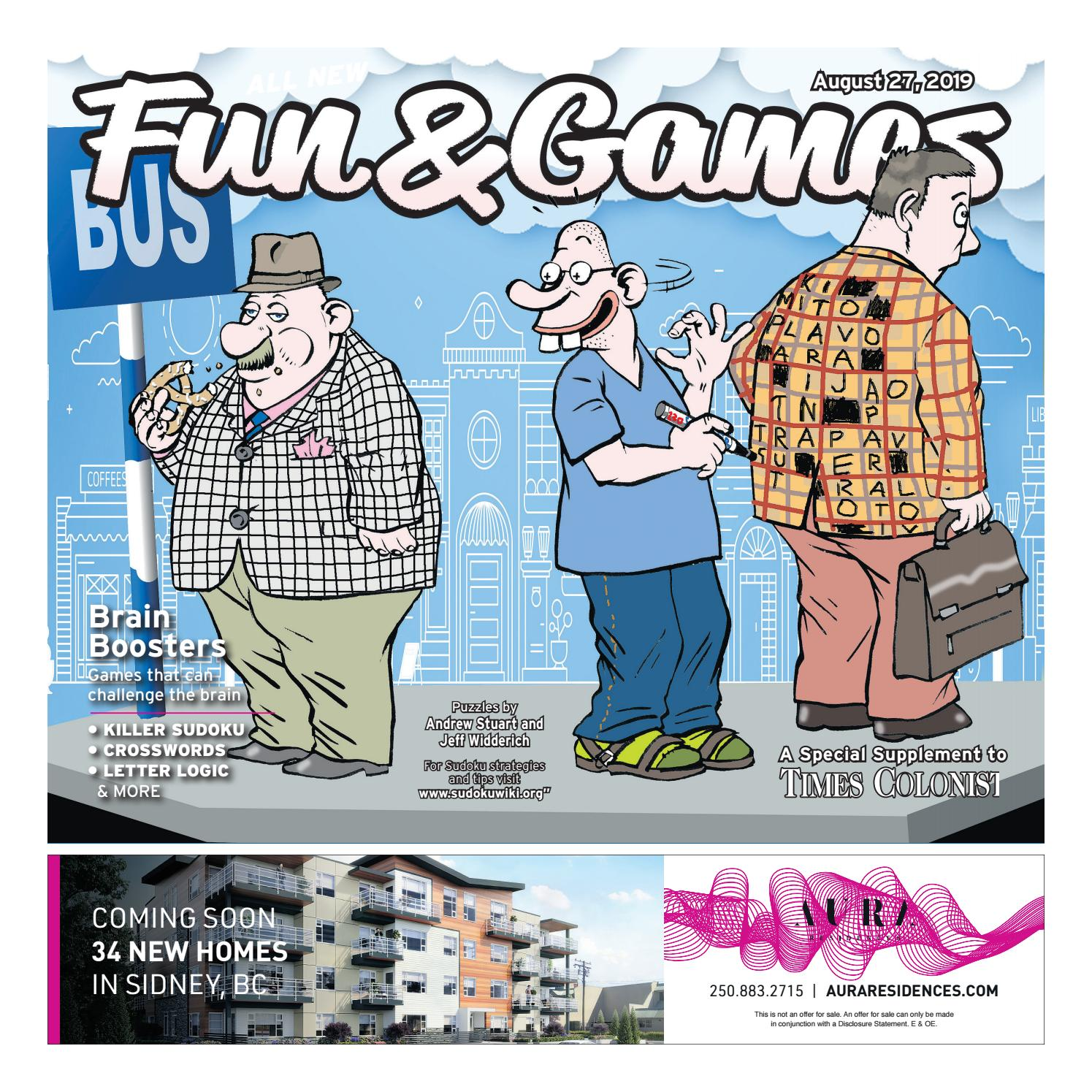 Fun and Games August 27, 2019 by Times Colonist - issuu