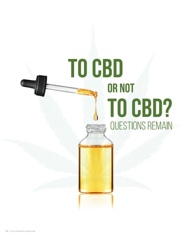 Page 22 of To CBD or not To CBD? Questions Remain