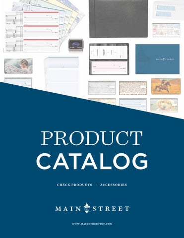 Main Street Inc Product Catalog 2019 By