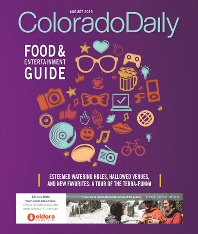Colorado Daily - 2019 CU Welcome Back #3 by Prairie Mountain