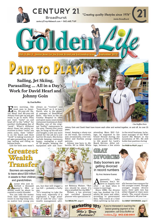 Golden Life Myrtle Beach September
