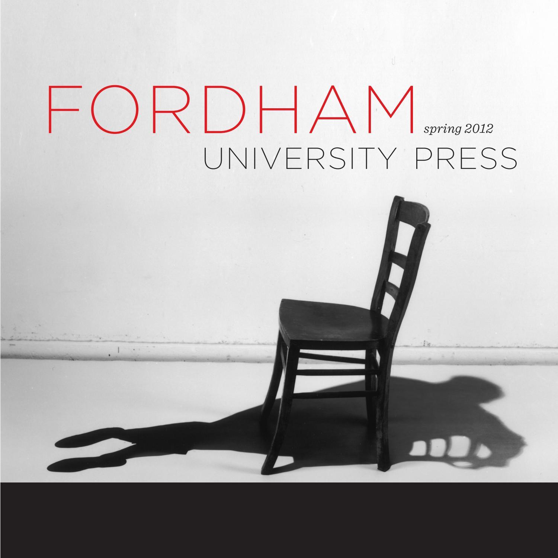 Spring 2012 by Fordham University Press - issuu