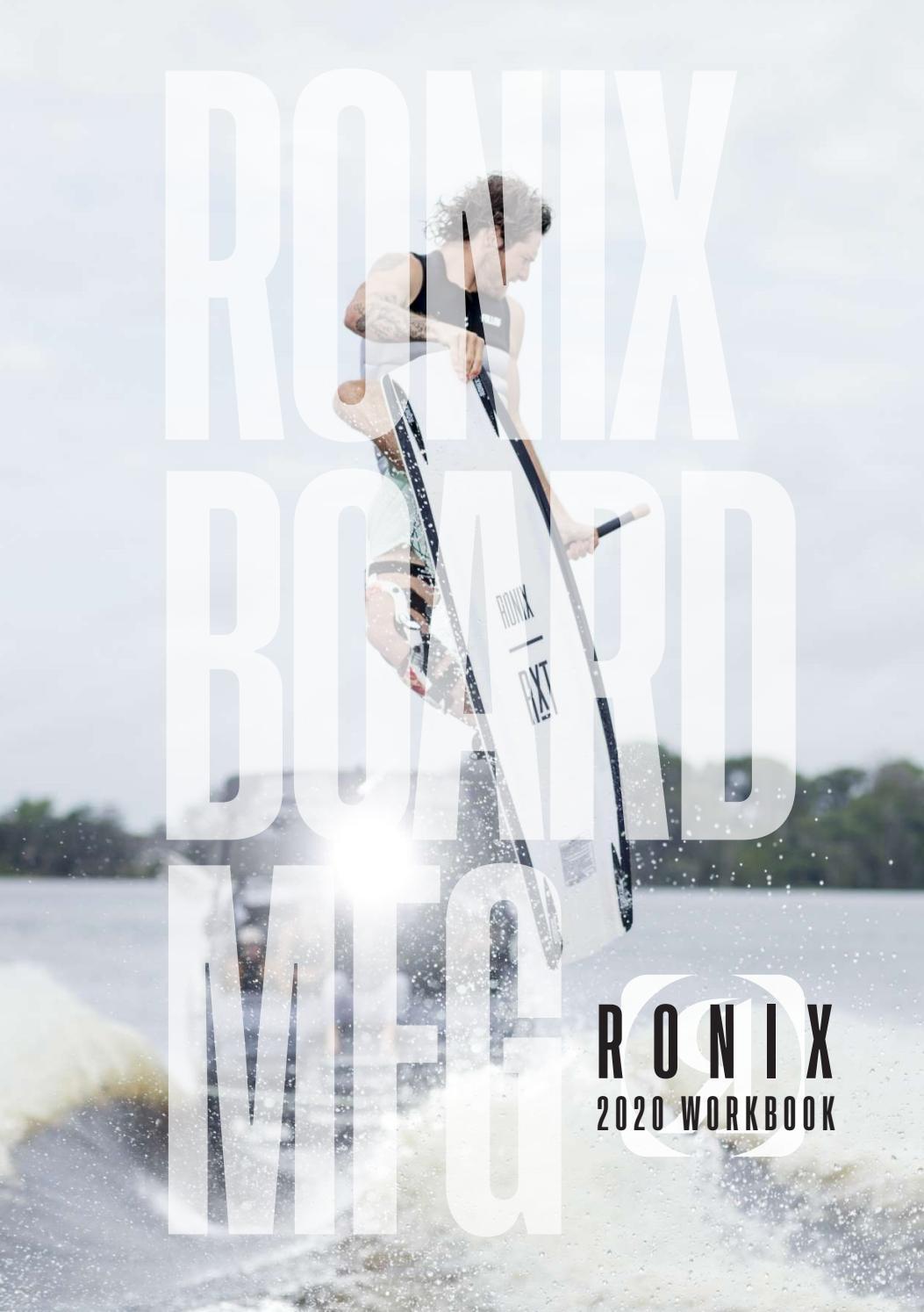 2020 Black Ronix 24 Boat Decal