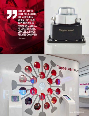 Page 21 of From Preservation to Innovation - Tupperware Brands Evolves into a True Space-Age Company