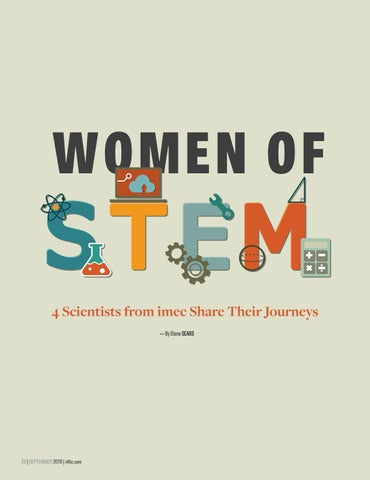 Page 28 of WOMEN OF STEM - 4 Scientists from imec Share Their Journey