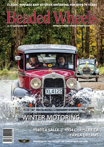 Beaded Wheels Issue 359 August/September 2019 by Vintage Car ... on