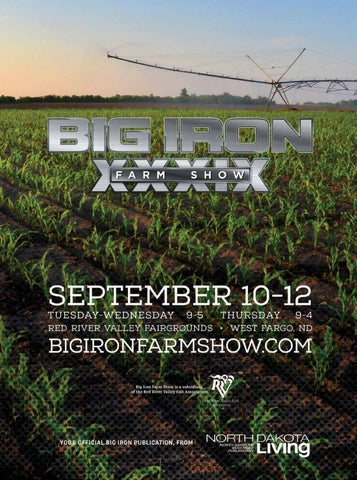 2019 Big Iron Farm Show Guide by Breann Lenzmeier - issuu