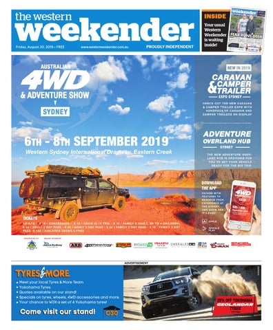 Western Weekender August 30 By Sydney Publishing