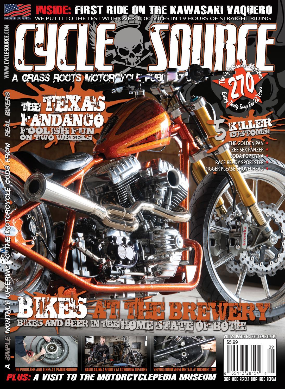 Cycle Source Magazine -September 2019 by Cycle Source Magazine - issuu  Issuu