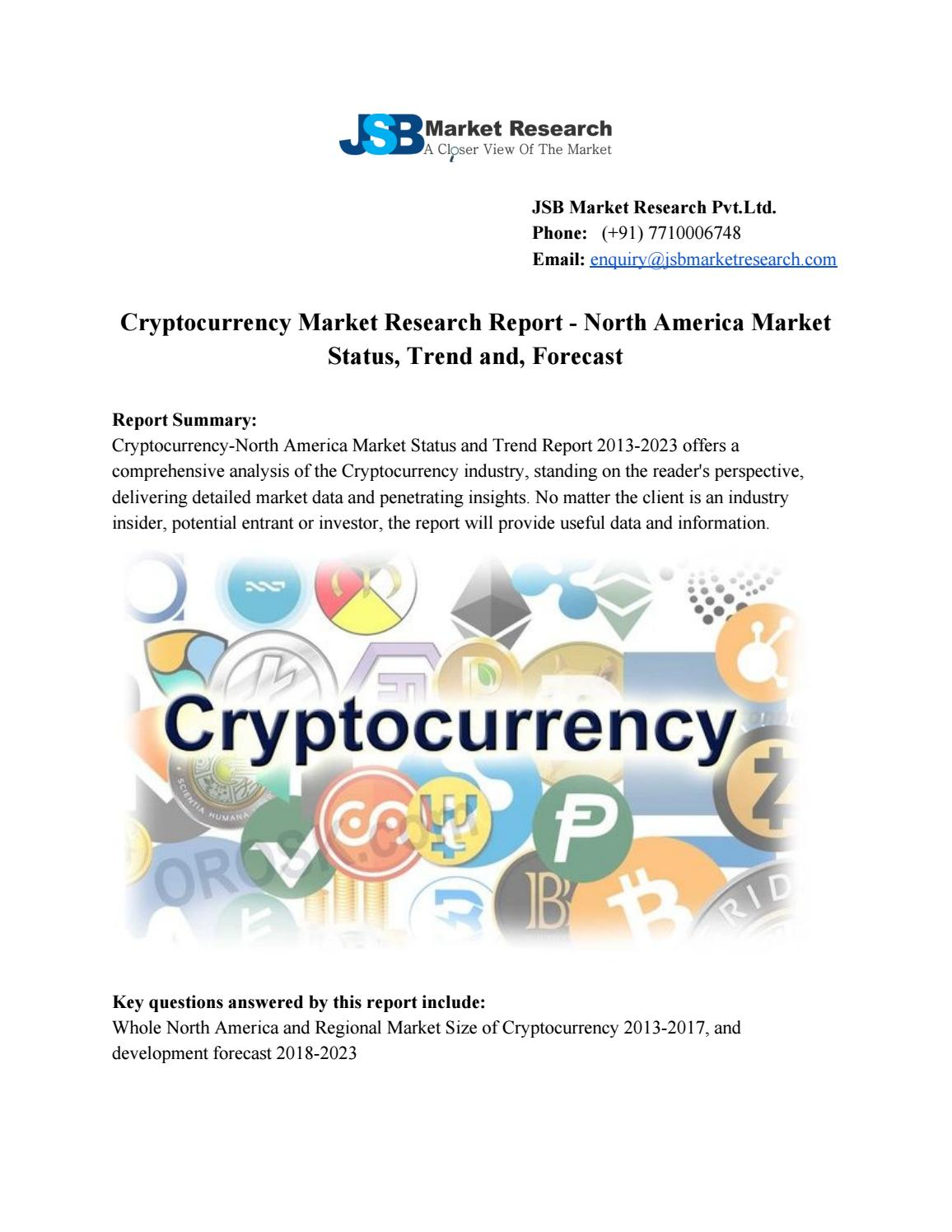 cryptocurrency market research