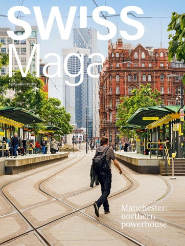 SWISS Magazine September 2019 Manchester by Swiss