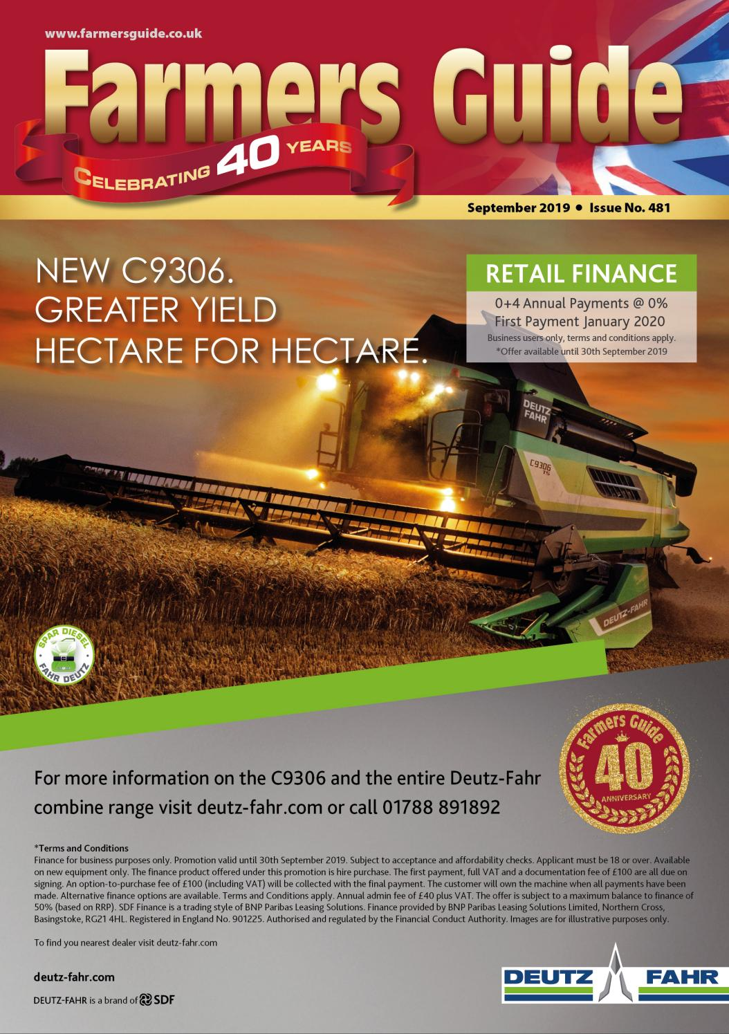 Farmers Guide September 2019 by Farmers Guide - issuu
