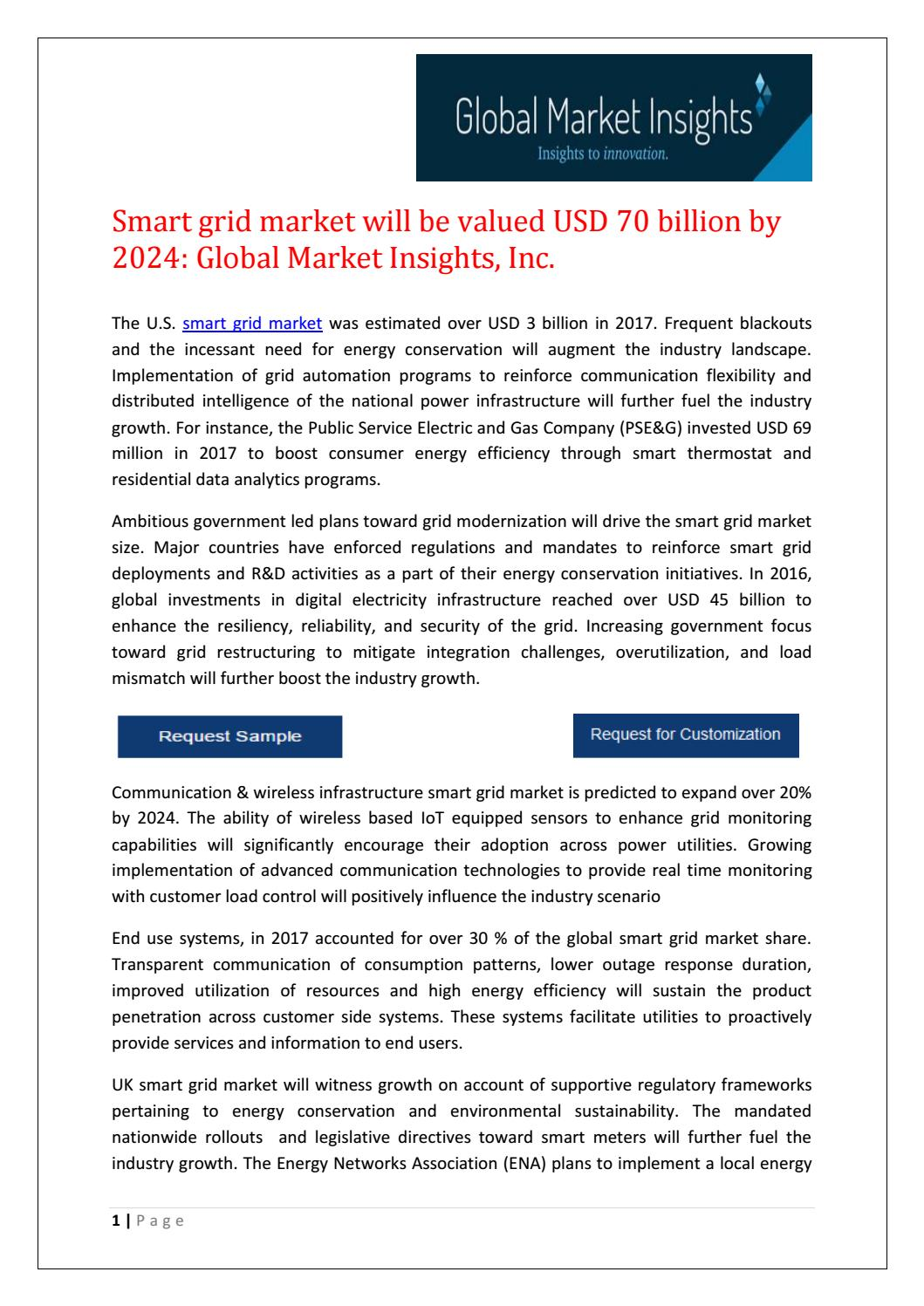 Smart grid market in china will be valued USD 40 billion by