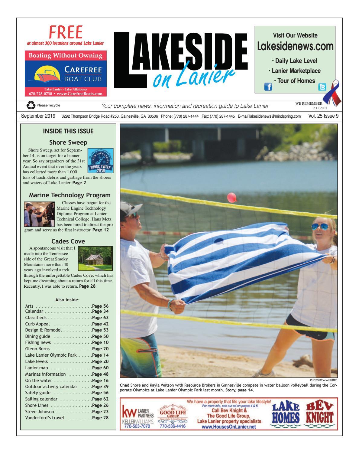 lakeside on lanier september 2019 by lanier publishing inc