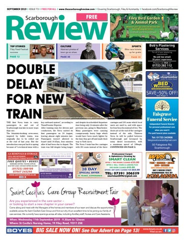The Scarborough Review September 2019 By Your Local Link