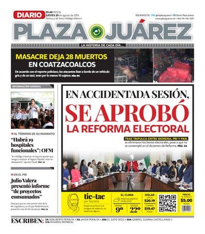 29-08-19 by Diario Plaza Juárez - issuu
