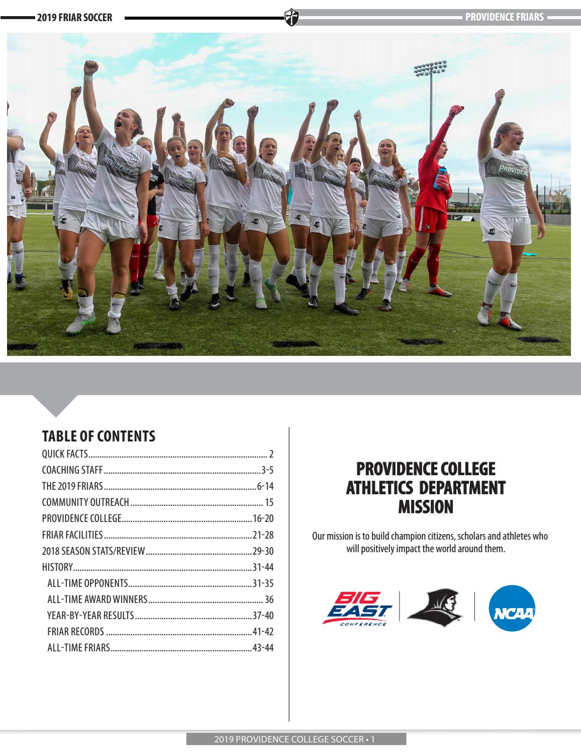 most popular buying new another chance 2019 Women's Soccer Media Guide by Providence College - issuu