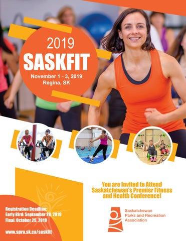 Page 1 of Get Ready for SaskFit 2019