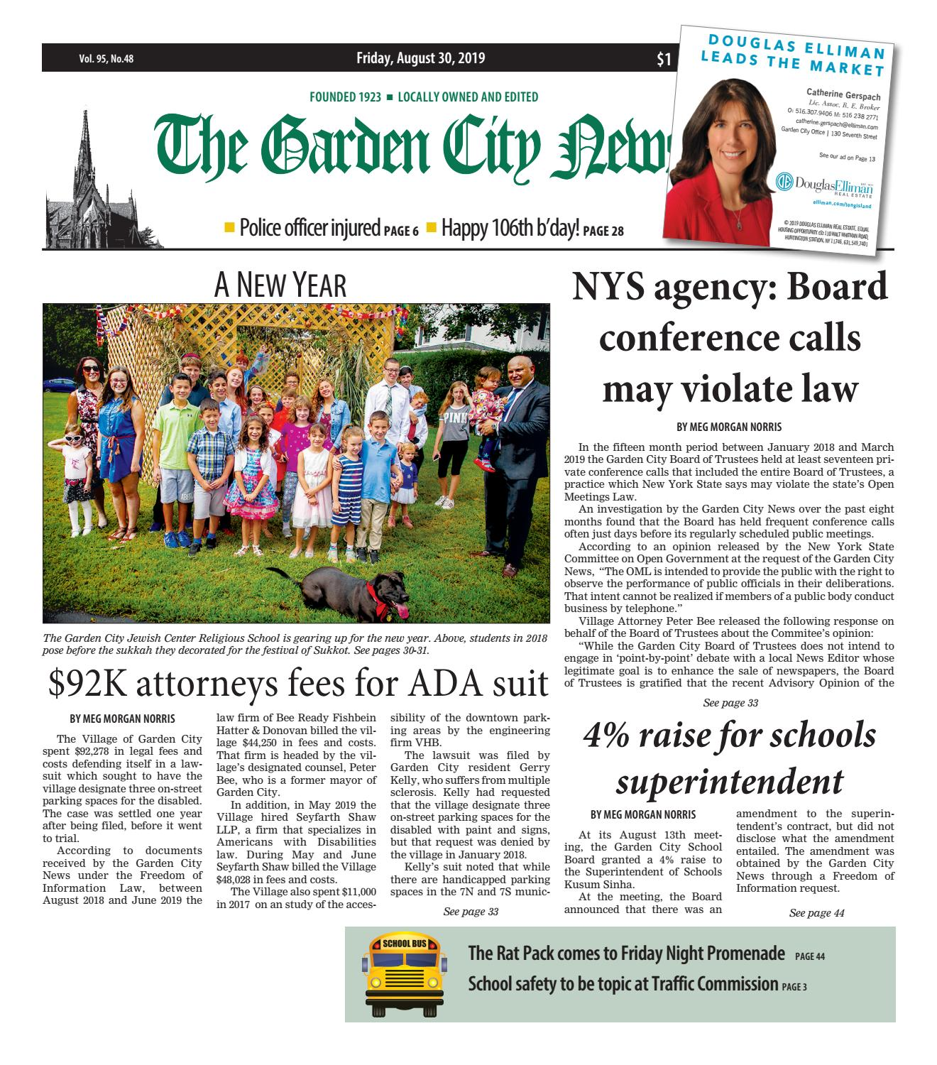 The Garden City News (8/30/19) by Litmor Publishing - issuu on